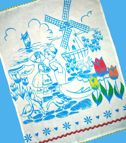 dutch treat tea towels are back!