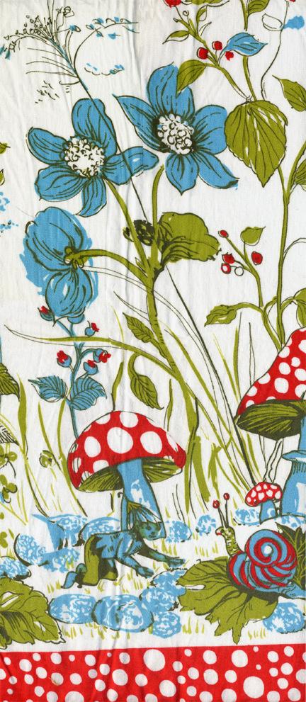 pixie print fabric