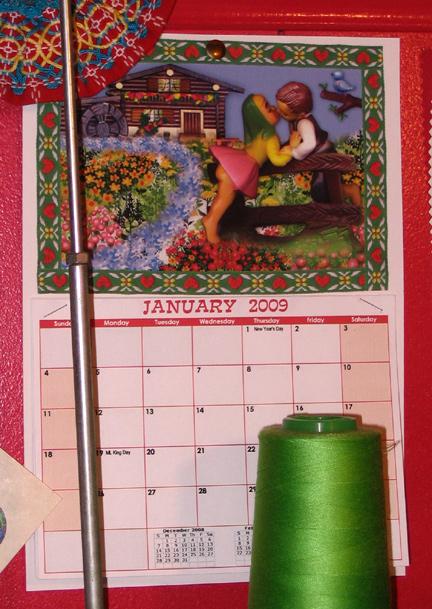 workroom calendar