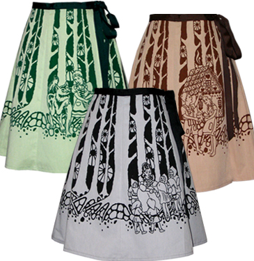 fairytale forest skirt