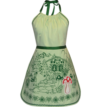 gnome forest apron