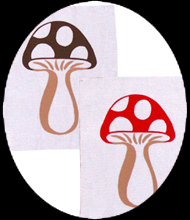 toadstool patches