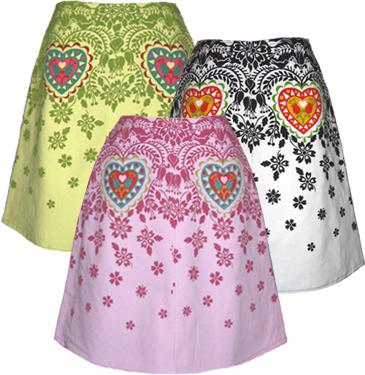wycinanki skirt
