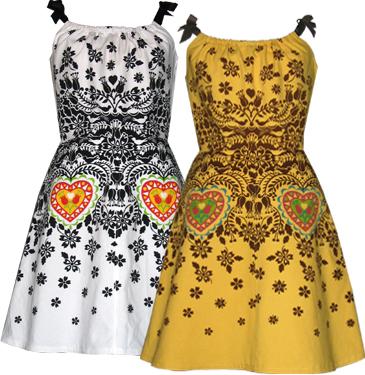 wycinanki dress